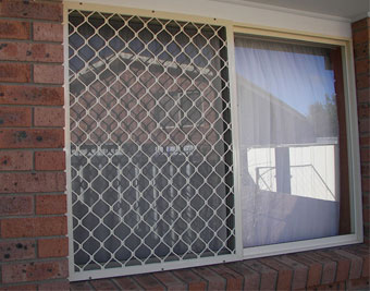 Safety window screens